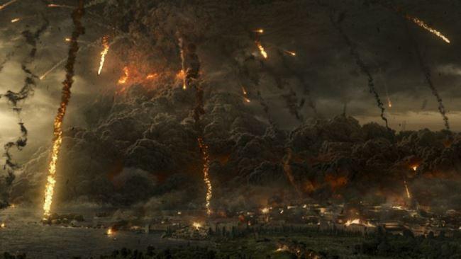 Pompeii Explosion