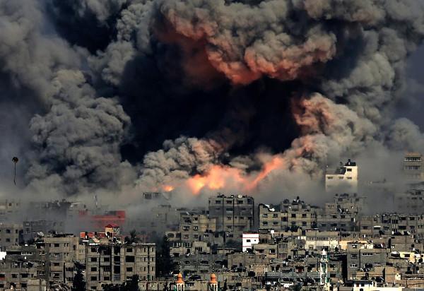 GazaBombing