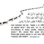 না, না, আমাদের বাপ-দাদাদের যা করতে দেখেছি, আমরাও তা-ই করবো — আল-বাক্বারাহ ১৭০-১৭১